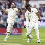 Mark Wood Jofra Archer England Cricket vs South Africa Third Test