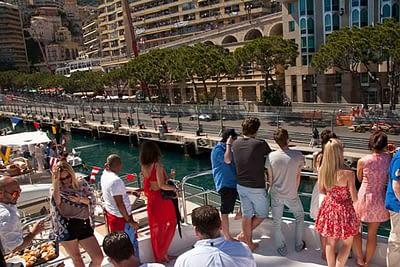 Monaco Grand Prix Yacht Service