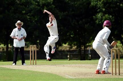 Cricket Bowler Action