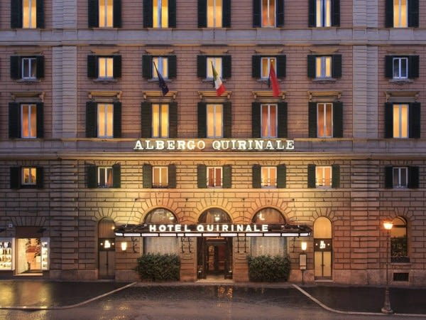 Rome 4* Quirinale Hotel Roma