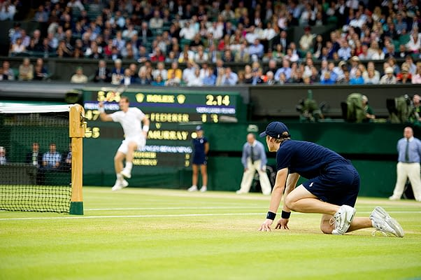 Wimbledon Ball Boy Centre Court