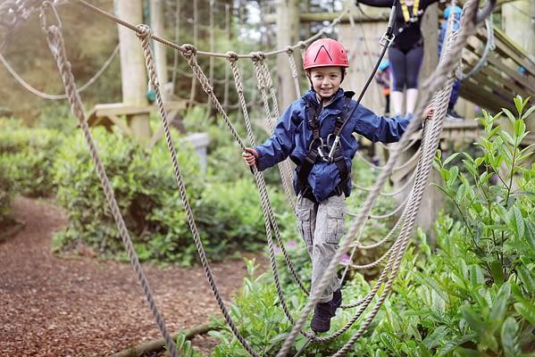 School Activity Breaks St Davids Wales KS2 Key Stage 2 3 School Trip Field
